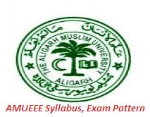 AMUEEE Syllabus Exam Pattern 2019