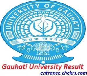 Gauhati University Result 2017