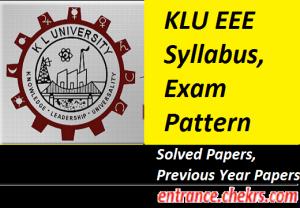 KLUEEE Syllabus 2021
