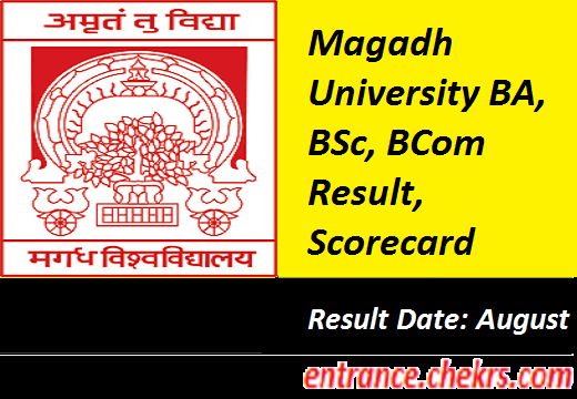 Magadh University Result 2017