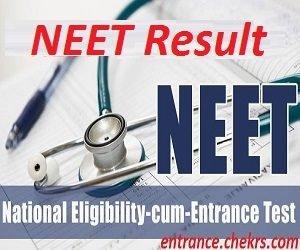 NEET UG Result 2017