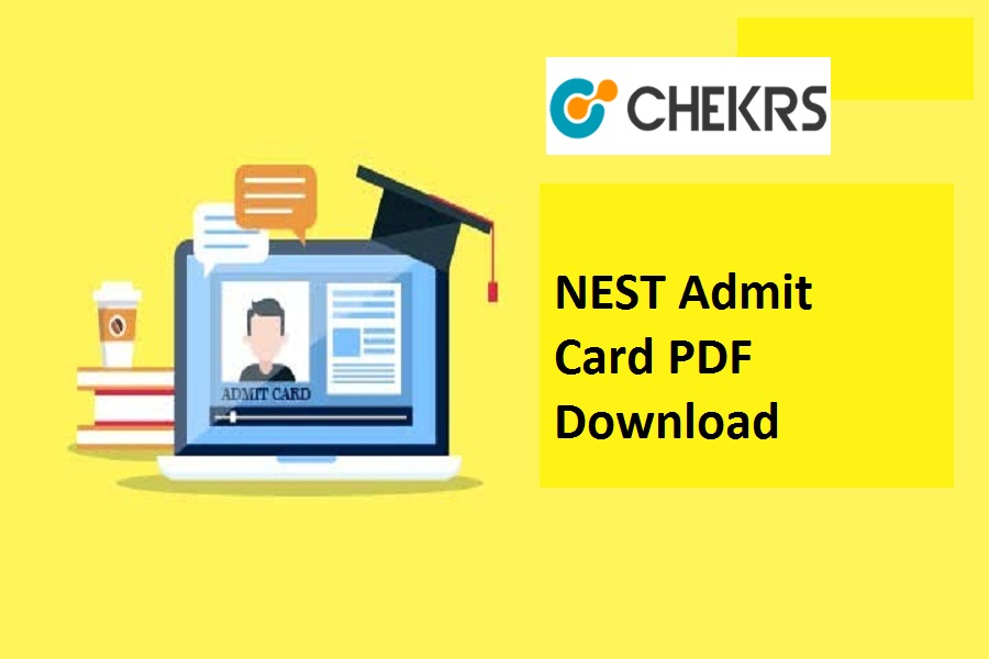 NEST Admit Card 2021