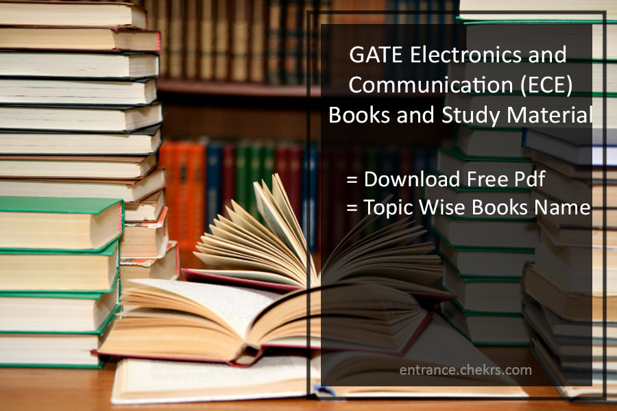 GATE 2020 Books for ECE- Best Books PDF By Topper Free Download