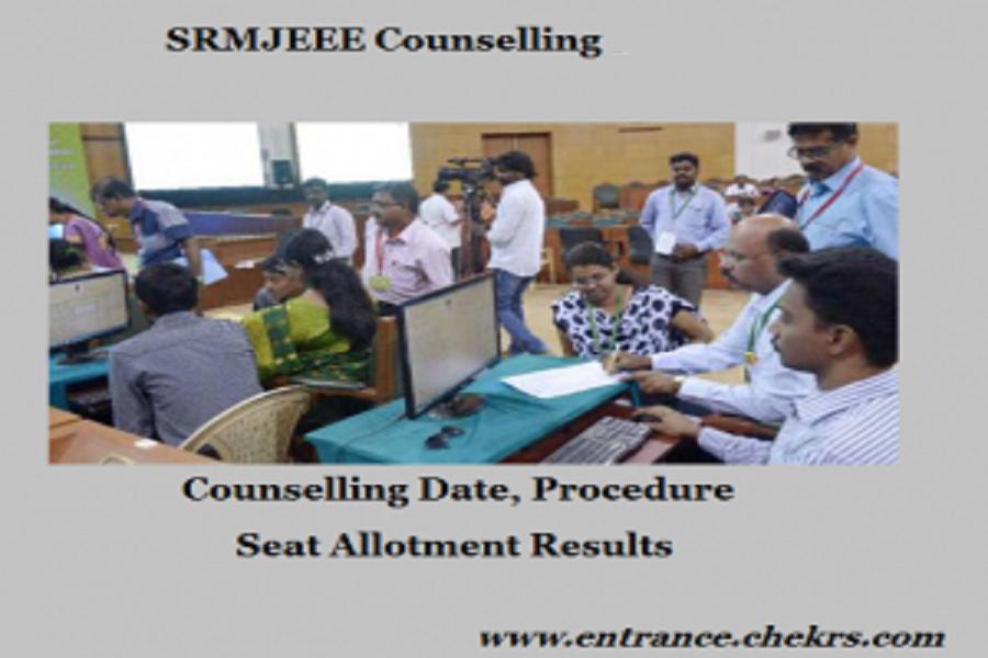 SRMJEEE Counselling 2020
