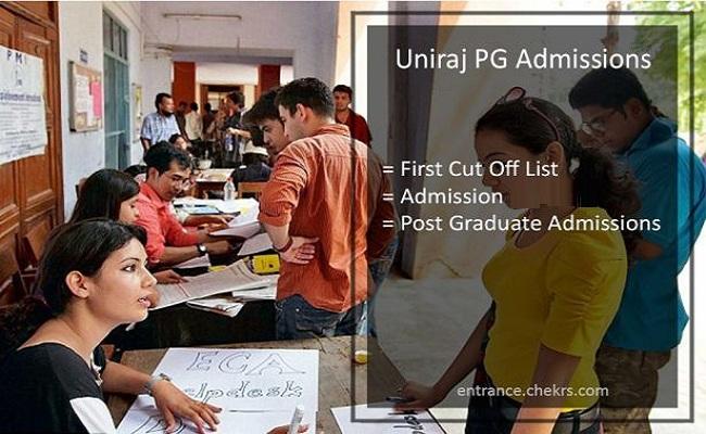 Uniraj PG Admissions