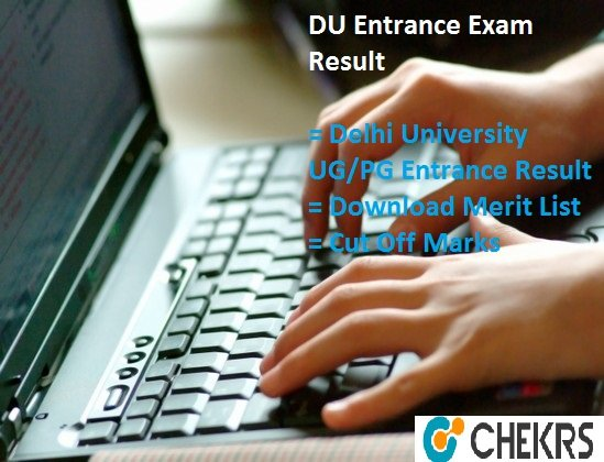DU Entrance Exam Result 2021