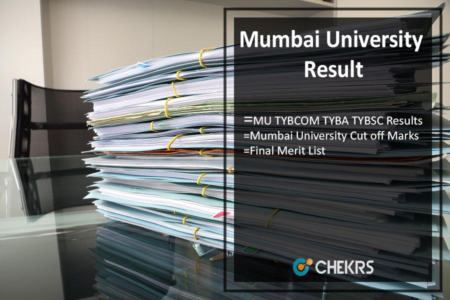 Mumbai University Result, MU TYBCOM TYBA TYBSC Results @mu.ac.in