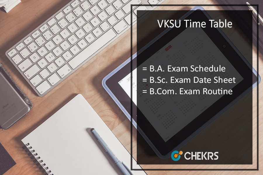 VKSU Time Table 2020