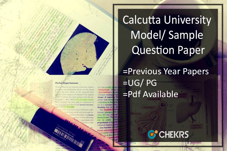 Calcutta University Model/ Sample Question Paper