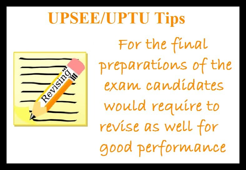 UPSEE Preparation Tips