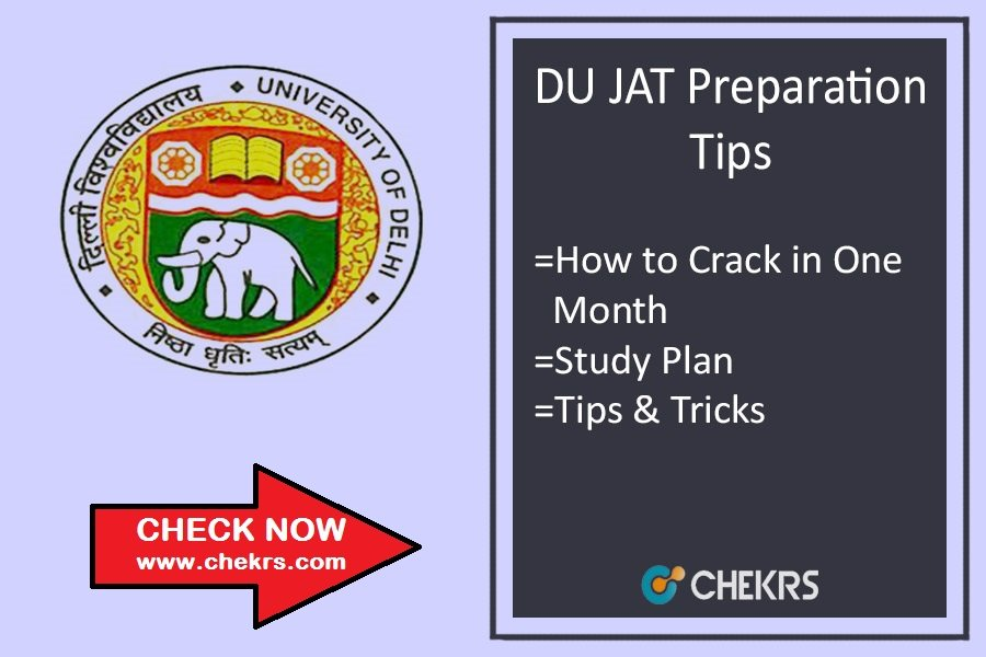 How To Prepare for DU JAT 2021