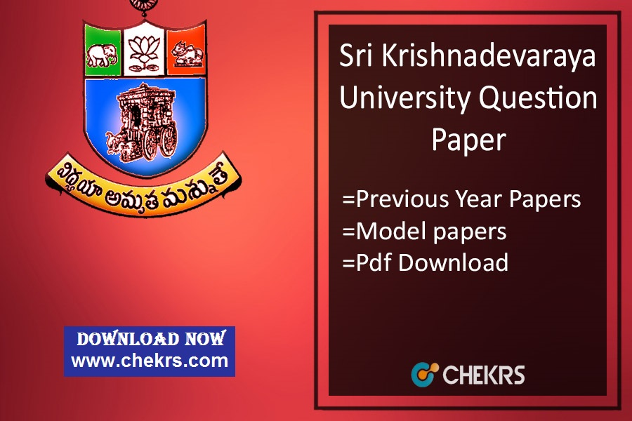 Sku Question Paper 2020 Sk University Previous Year Model Papers