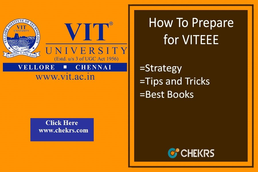 How To Prepare for VITEEE 2021- Tips, Strategy to Crack Exam