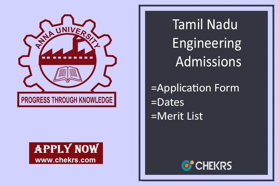 tnea- Tamil Nadu Medical Entrance Application Form on