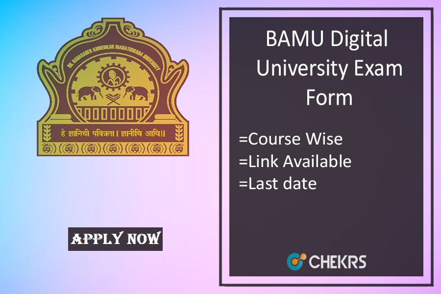 bamu exam form 2019 bamu.ac.in