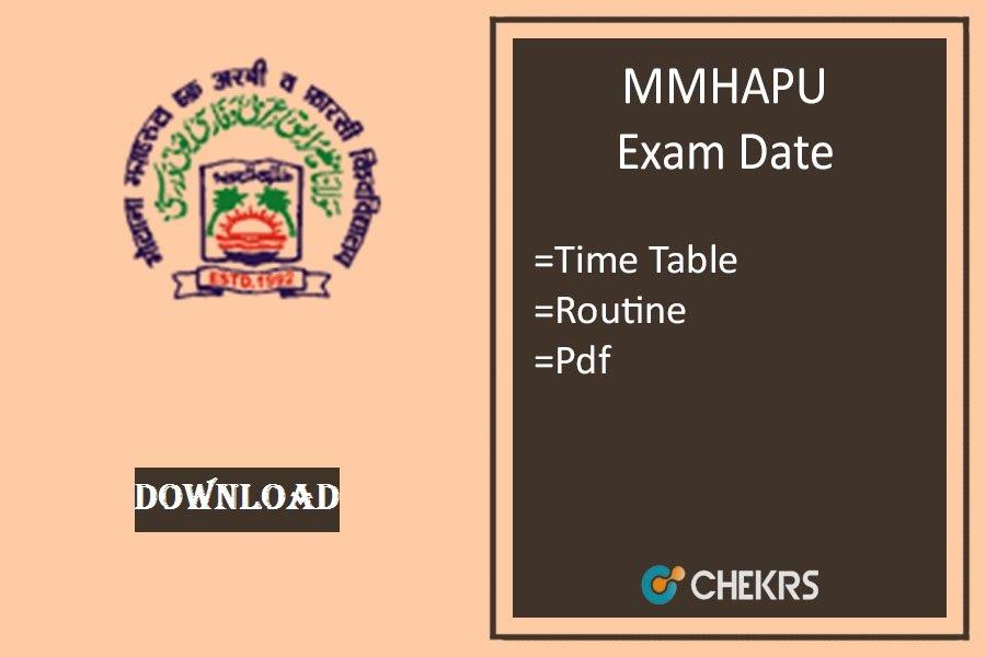 mmhapu exam date 2021