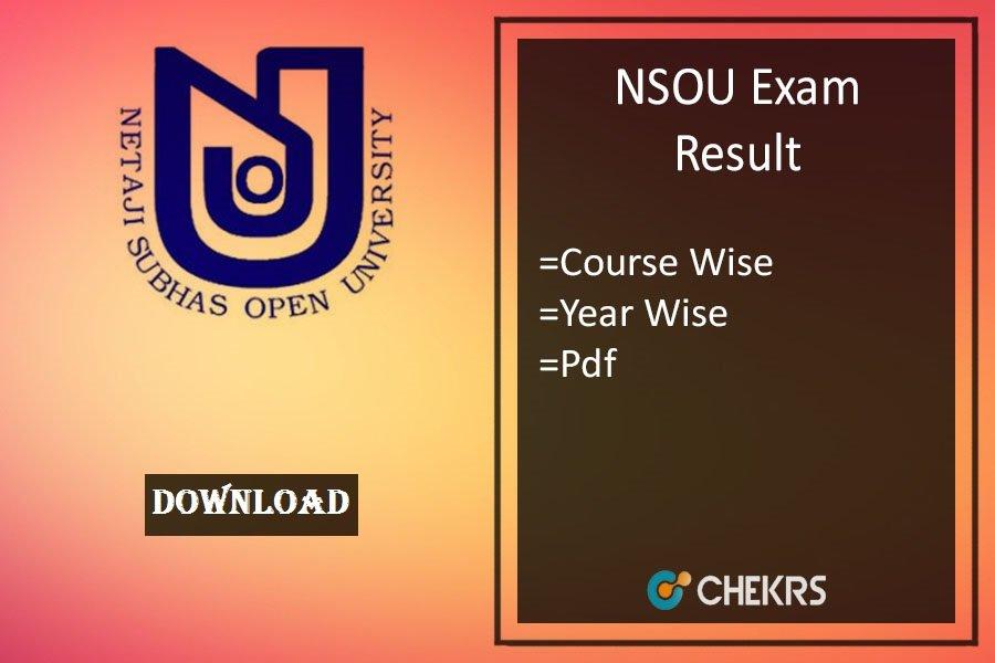 nsou result 2020