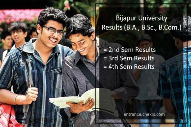 Bijapur University Result 2020