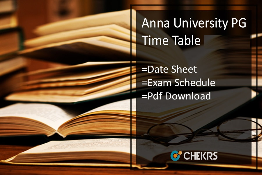 anna university pg time table 2020