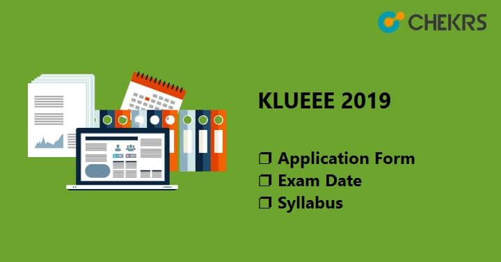 KLUEEE 2019 Exam Date KLEEE 2019