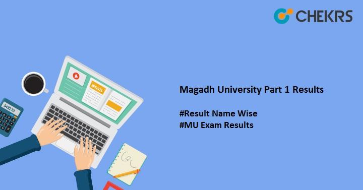 magadh university part 1 results 2020