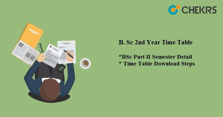 BSc 2nd Year Time Table 2020