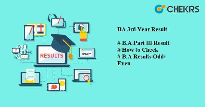 BA 3rd Year Result 2019 : Latest B A Semester/ Annual Results