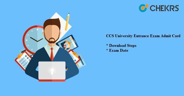 CCS University Entrance Exam Admit Card 2020