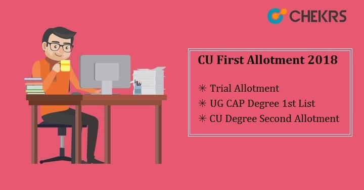 Calicut University First Allotment 2020