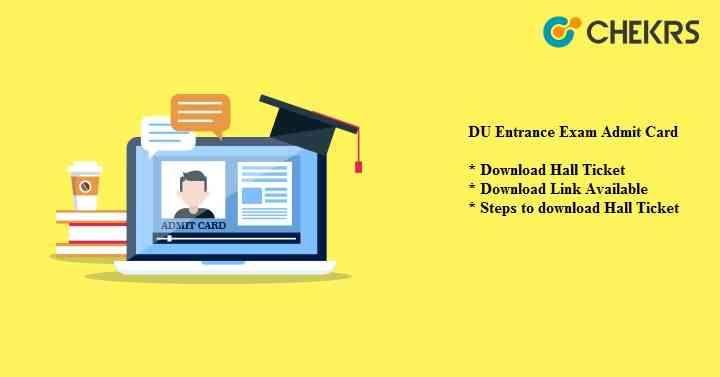DU Entrance Exam Admit Card 2021
