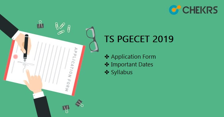 TS PGECET 2021 Application Form