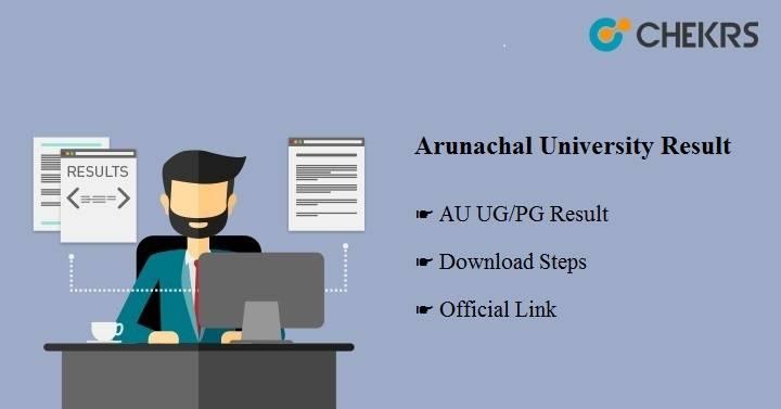 Arunachal University Result 2021