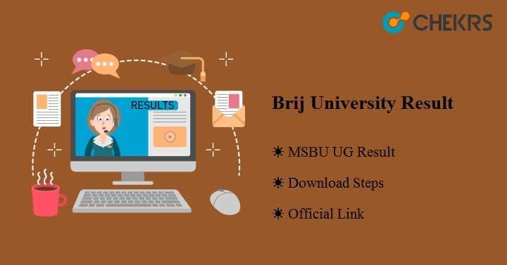 Brij University Result 2020