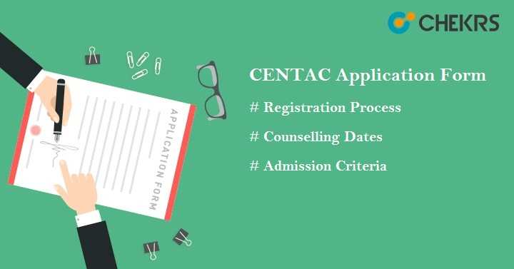 CENTAC Application Form 2021