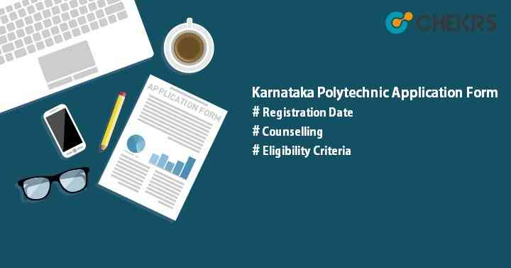 Karnataka Polytechnic 2020 Application Form