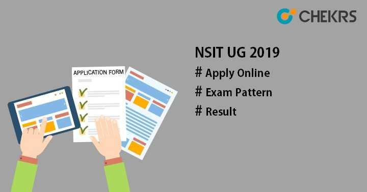 NSIT UG 2019NSIT UG Application PTU UG Admission PTU Delhi Admission
