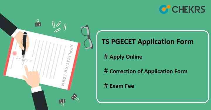 TS PGECET 2021 Application Form