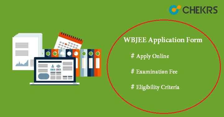 WBJEE Application Form 2022