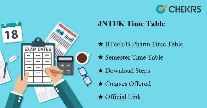 jntuk time table 2020