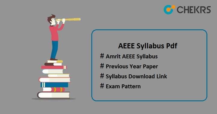 AEEE Syllabus 2022