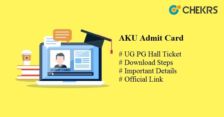 aku admit card