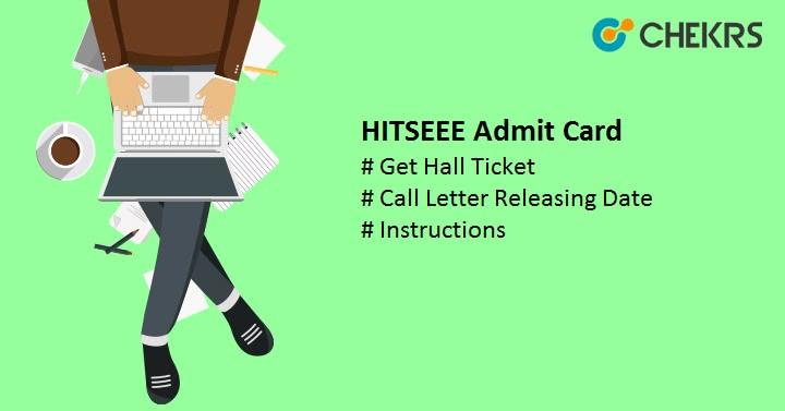 HITSEEE Admit Card 2022 Hall ticket