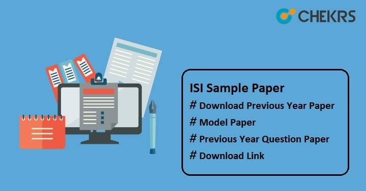 isi sample paper 2022