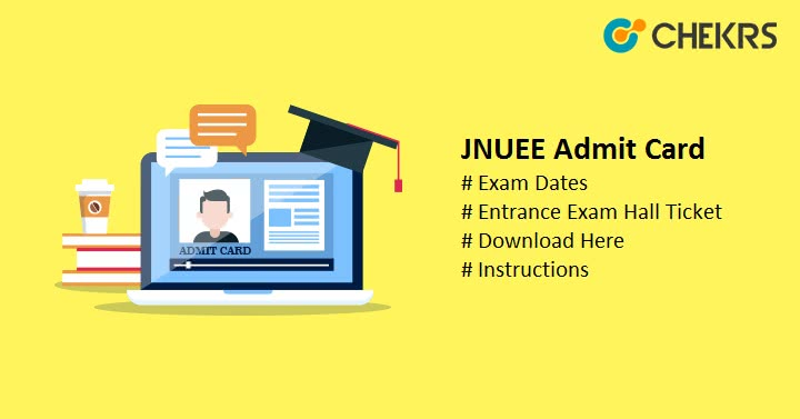 JNUEE Admit Card Hall Ticket