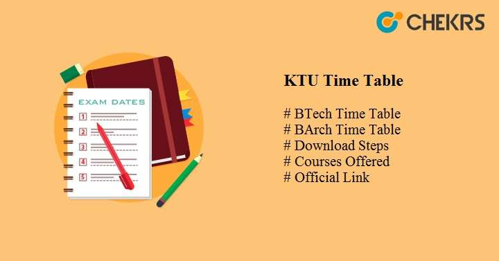 ktu time table 2020