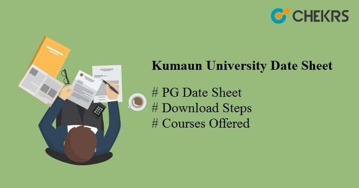 Kumaun University PG Exam Date Sheet 2020