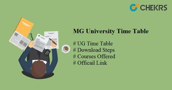 mg university time table 2020