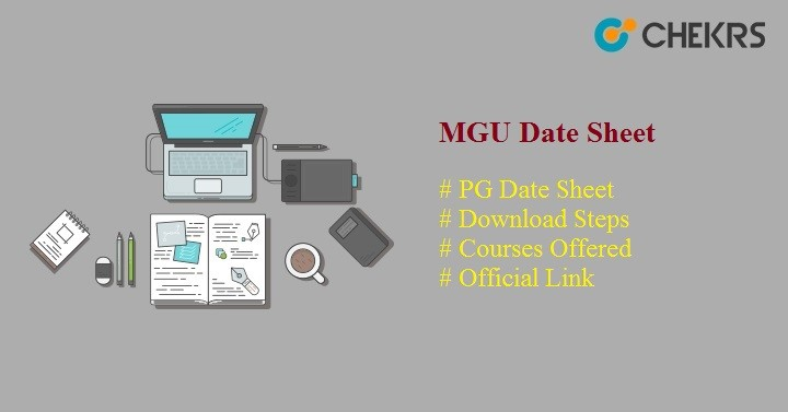 MGU PG Time Table 2021