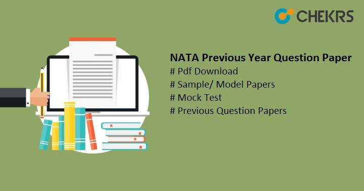 NATA Previous Year Question Paper Pdf