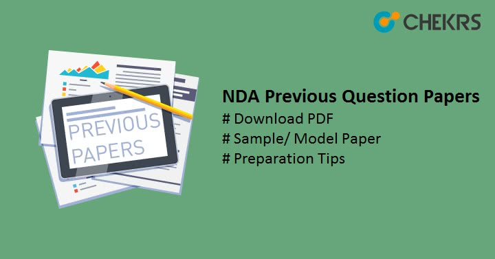 Download NDA Previous Year Question Papers Pdf